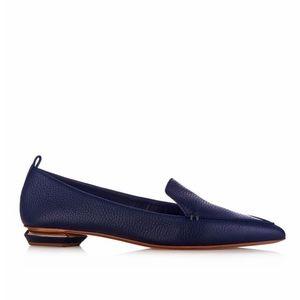 Nicholas Kirkwood Beya Navy Loafers